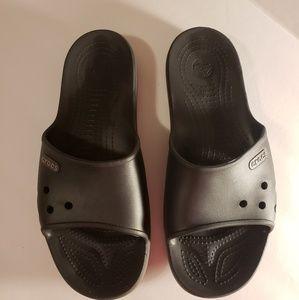 Crocs Unisex Black Crocband II Slide Sandal